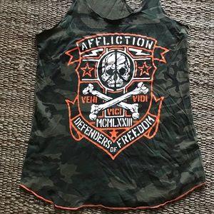 Affliction tank